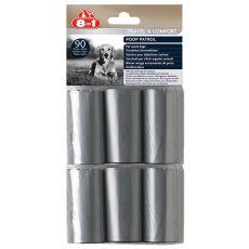 Nadomestne odpadne vrečke 8 v 1 - 6 x 15 kosov