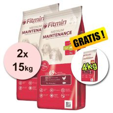 Fitmin MEDIUM Maintenance 2x15kg + 4kg - BREZPLAČNA DOSTAVA