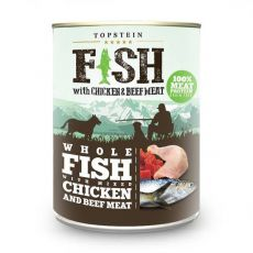 Farm Fresh - Fish with Chicken and Beef Meat 800 g
