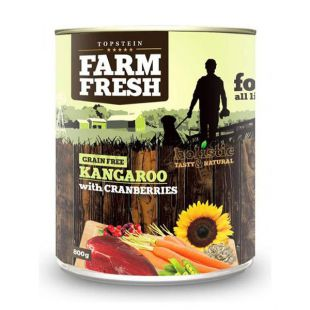 Farm Fresh - Kangaroo with Cranberries 800g