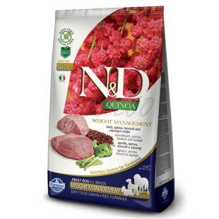 Farmina N&D dog GF QUINOA Weight Managment Lamb 7 kg