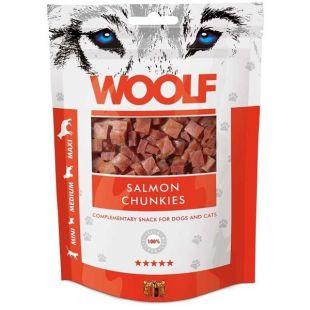 WOOLF Salmon Chunkies 100 g