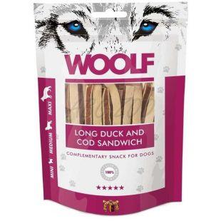 WOOLF Long Duck and Cod Sandwich 100 g