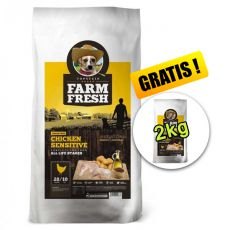 Farm Fresh Chicken Sensitive GF 15 + 2kg GRATIS