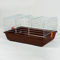 Kletka za zajčke in morske prašičke - Rabbit 60 chrom