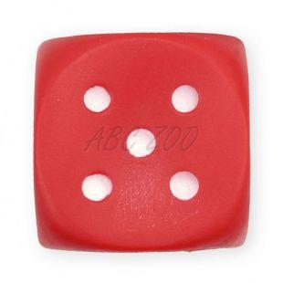 Pasja igrača iz vinila – piskajoča kocka, 6 cm