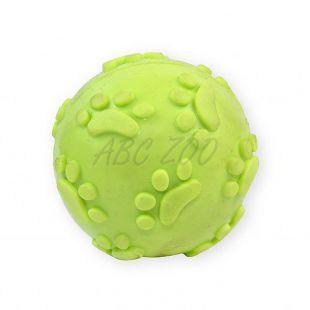Pasja igrača – piskajoča žoga, rumena, 6 cm