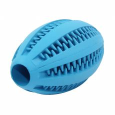 Pasja igrača – rugby žoga, modra, 11 cm