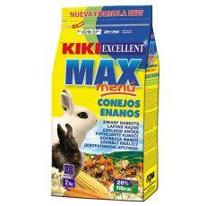 KIKI EXCELLENT MAX MENU - hrana za pritlikave kunce 2 kg