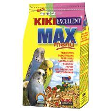 KIKI MAX MENU Budgerigar – hrana za skobčevke, 500 g