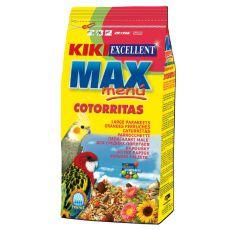 KIKI MAX MENU Cotorritas – hrana za nimfe in agapornise, 500 g