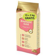EMINENT GOLD Puppy 15kg + 3kg GRATIS