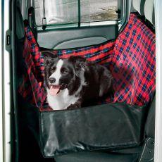 Prevleka za pse v avtu - 140 x 60 x 50 cm