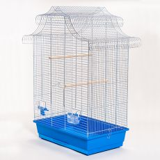 Ptičja kletka AMADINA krom - 61,5 x 41,5 x 85,5 cm