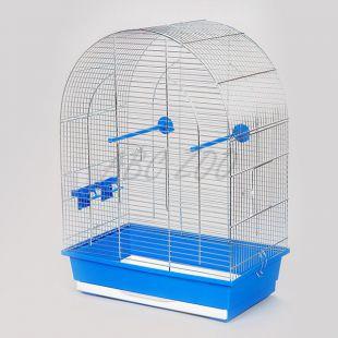 Ptičja kletka LUSI II krom - 45 x 28 x 63 cm