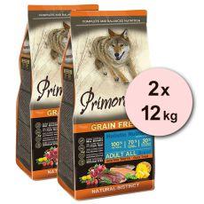 Primordial GF ADULT - raca in postrv 2 x 12 kg