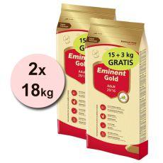 EMINENT GOLD Adult 15 kg + 3 kg BREZPLAČNO