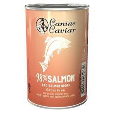 Konzervirana pasja hrana Canine Caviar SALMON Grain Free 375 g