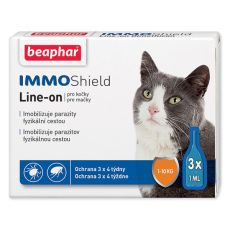 BEAPHAR IMMO SHIELD Line-on CAT 3 x 1 ml