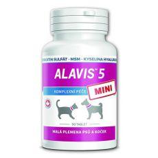 ALAVIS 5 MINI pripravek za sklepe psov in mačk - 90 tablet