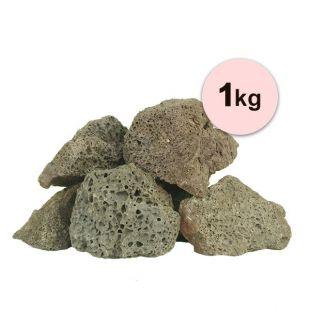 Vulkanski kamni za akvarij Black Volcano Stone S – 1 kg