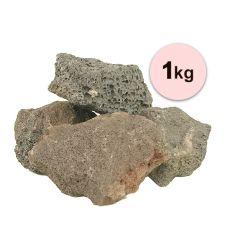 Vulkanski kamni za akvarij Black Volcano Stone M – 1 kg