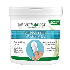Naprstniki za čiščenje zob VET´S BEST, 50 kosov