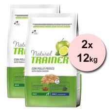 Trainer Natural Adult Maxi, piščanec 2 x 12 kg