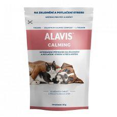 ALAVIS CALMING za pse in mačke, 30 tablet