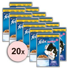 Felix Junior - piščanec v želeju 20 x 100 g