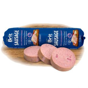 BRIT Sausage Chicken & Rabbit 800 g