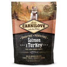 Brit CARNILOVE Salmon & Turkey Large Breed Puppies 1,5 kg