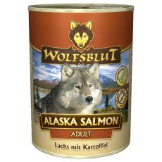 Konzerva WOLFSBLUT Alaska Salmon, 395 g