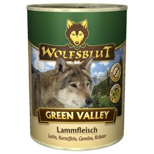 Konzerva WOLFSBLUT Green Valley, 395 g