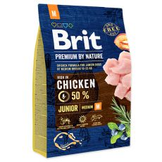 Brit Premium by Nature Junior Medium 3 kg