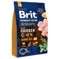 Brit Premium by Nature Senior Small a Medium 3 kg