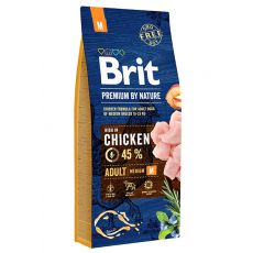 Brit Premium by Nature Adult Medium 15 kg
