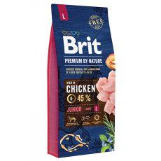 Brit Premium by Nature Junior Large 15 kg