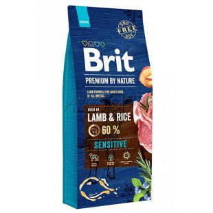 Brit Premium by Nature Sensitive Lamb 15 kg