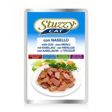 Vrečka z mačjo hrano Stuzzy – trska, 100 g