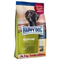 Happy Dog Supreme Neuseeland 12,5 kg + 2 kg GRATIS