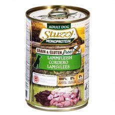 Konzerva pasje hrane STUZZY Dog Monoprotein – jagnjetina, 400 g