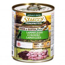 Konzerva pasje hrane STUZZY Dog Monoprotein – jagnjetina, 800 g