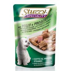 Stuzzy Speciality Dog – piščanec s šunko, 100 g