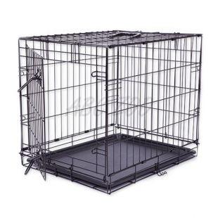 Kletka za psa Black Lux, M - 78,5 x 52,5 x 59 cm