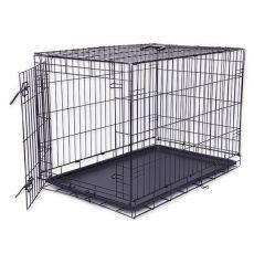 Kletka za psa Black Lux, XXL - 125,8 x 74,5 x 80,5 cm