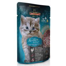 Vrečka hrane Leonardo Kitten, 85 g