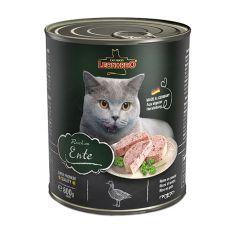 Konzerva mačje hrane Leonardo, raca 800 g