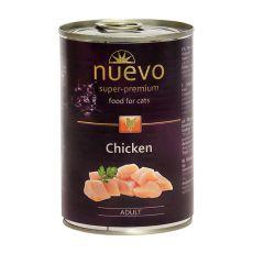 Konzerva NUEVO CAT Adult Chicken 400 g