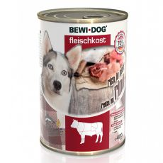 Konzerva New BEWI DOG – goveje meso, 400 g